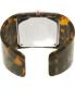 Emporio Armani Women's AR7395 Tortoiseshell Plastic Quartz Watch - Back Image Swatch