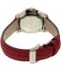 Burberry Women's Britain BBY1715 Magenta Leather Quartz Watch - Back Image Swatch