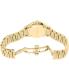 Burberry Women's Classic Round BU10006 Gold Stainless-Steel Swiss Quartz Watch - Back Image Swatch