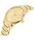 Burberry Women's Classic Round BU10006 Gold Stainless-Steel Swiss Quartz Watch - Side Image Swatch