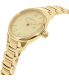 Burberry Women's Classic Round BU10109 Gold Stainless-Steel Swiss Quartz Watch - Side Image Swatch