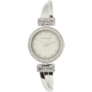 Anne Klein Women's AK-1869SVST Silver Metal Analog Quartz Watch