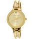Anne Klein Women's AK-1942CHGB Gold Metal Analog Quartz Watch - Main Image Swatch