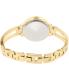 Anne Klein Women's AK-1942CHGB Gold Metal Analog Quartz Watch - Back Image Swatch