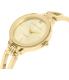 Anne Klein Women's AK-1942CHGB Gold Metal Analog Quartz Watch - Side Image Swatch