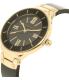 Anne Klein Women's AK-1958BKGB Black Ceramic Analog Quartz Watch - Side Image Swatch