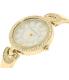 Anne Klein Women's AK-1960GBST Gold Metal Analog Quartz Watch - Side Image Swatch