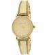 Anne Klein Women's AK-2052IVST Beige Metal Analog Quartz Watch - Main Image Swatch