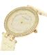 Anne Klein Women's AK-2130IVGB Beige Ceramic Analog Quartz Watch - Side Image Swatch