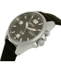 Seiko Men's SMY143 Gunmetal Nylon Automatic Watch - Side Image Swatch