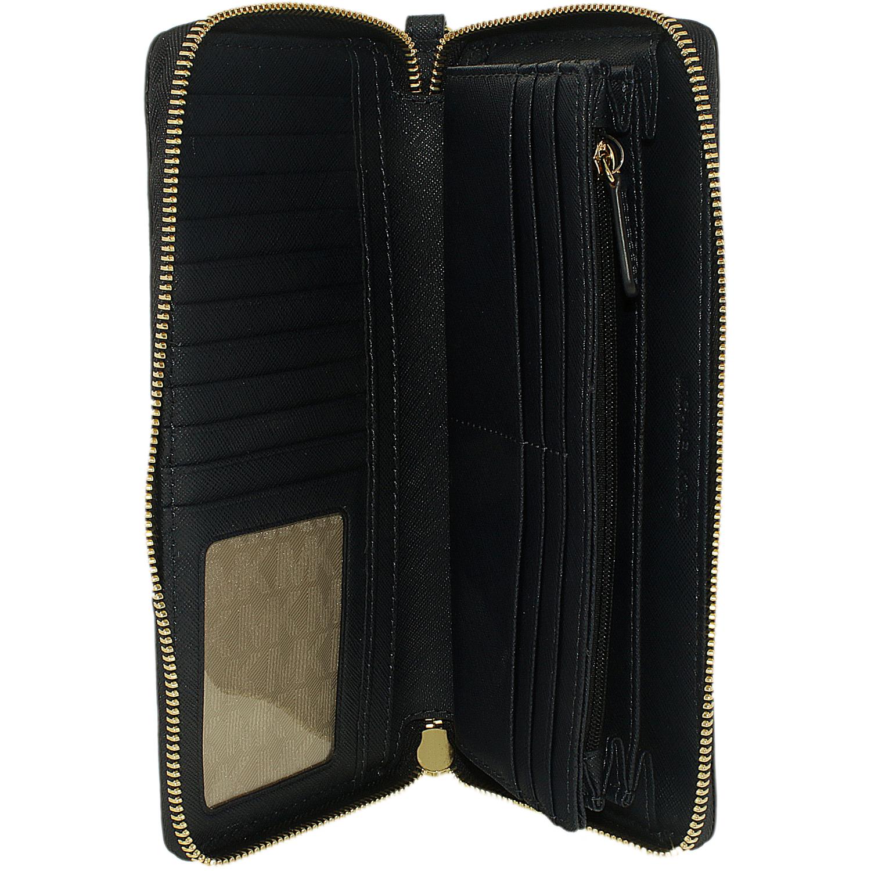 Michael Michael Kors Jet Set Travel Leather Continental Wallet: Michael Kors Women's Jet Set Travel Leather Continental