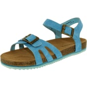 Bearpaw Girl's Delilah Leather Ankle-High Suede Sandal