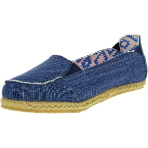 Bearpaw Women's Heather Canvas Ankle-High Canvas Loafer