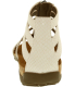 Bearpaw Women's Layla Leather Ankle-High Leather Sandal - Back Image Swatch