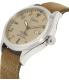 Timex Men's TW2P64600 Brown Leather Analog Quartz Watch - Side Image Swatch