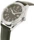 Timex Men's TW2P76700 Black Leather Analog Quartz Watch - Side Image Swatch
