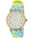 Timex Women's Ironman TW2P90100 Blue Nylon Analog Quartz Watch - Main Image Swatch