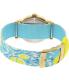 Timex Women's Ironman TW2P90100 Blue Nylon Analog Quartz Watch - Back Image Swatch
