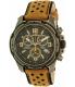 Timex Men's Expedition TW4B01500 Gunmetal Leather Analog Quartz Watch - Main Image Swatch