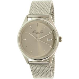 Kenneth Cole Women's New York 10029399 Silver Stainless-Steel Quartz Watch