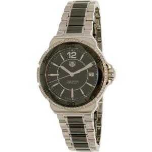 Tag Heuer Women's Formula I WAH1212.BA0859 Black Stainless-Steel Swiss Quartz Watch