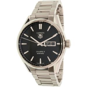 Tag Heuer Men's Carrera WAR201A.BA0723 Silver Stainless-Steel Swiss Automatic Watch