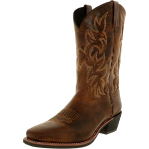 Laredo Men's Breakout Leather Mid-Calf Leather Boot