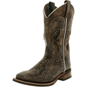 Laredo Women's Spellbound Leather Mid-Calf Leather Boot