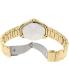 Citizen Men's AG8322-50E Gold Stainless-Steel Quartz Watch - Back Image Swatch