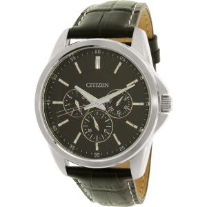 Citizen Men's Gents Dress AG8340-07E Black Stainless-Steel Quartz Watch