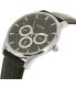 Citizen Men's AG8351-01E Silver Leather Quartz Watch - Side Image Swatch