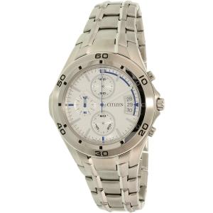 Citizen Men's AN3347-59C Silver Stainless-Steel Quartz Watch