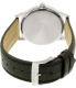 Citizen Men's Eco-Drive AW1231-07A Black Leather Eco-Drive Watch - Back Image Swatch