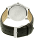 Citizen Men's Eco-Drive AW1236-11A Silver Leather Eco-Drive Watch - Back Image Swatch