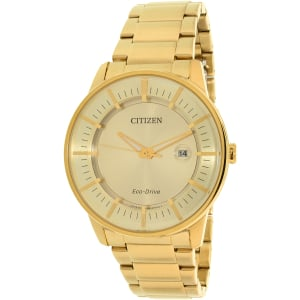 Citizen Men's Eco-Drive AW1262-54P Gold Stainless-Steel Eco-Drive Watch