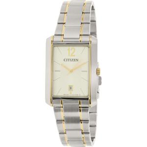 Citizen Men's BD0034-50A Silver Stainless-Steel Quartz Watch