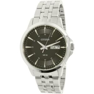 Citizen Men's BF2011-51E Silver Stainless-Steel Quartz Watch