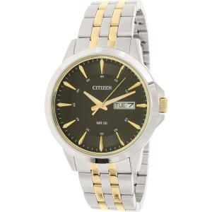 Citizen Men's BF2018-52E Silver Stainless-Steel Quartz Watch