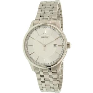 Citizen Men's BI1050-56A Silver Stainless-Steel Quartz Watch