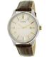 Citizen Men's BI1054-04A Silver Leather Quartz Watch - Main Image Swatch