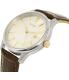 Citizen Men's BI1054-04A Silver Leather Quartz Watch - Side Image Swatch