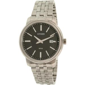 Citizen Men's BI1081-52E Silver Stainless-Steel Quartz Watch