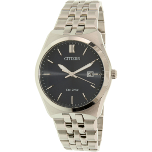 Citizen Men's Eco-Drive BM7330-67L Silver Stainless-Steel Eco-Drive Watch