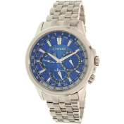 Citizen Men's Eco-Drive BU2021-69L Silver Stainless-Steel Eco-Drive Watch