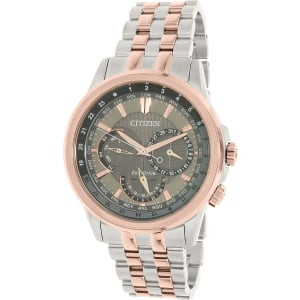 Citizen Men's Eco-Drive BU2026-65H Rose Gold Stainless-Steel Eco-Drive Watch
