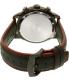 Citizen Men's Eco-Drive CA0576-08E Black Leather Eco-Drive Watch - Back Image Swatch