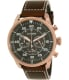 Citizen Men's Eco-Drive CA4213-00E Brown Leather Eco-Drive Watch - Main Image Swatch
