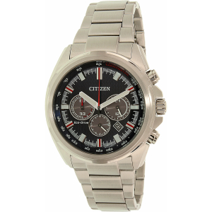Citizen Men's Eco-Drive CA4220-55L Silver Stainless-Steel Eco-Drive Watch