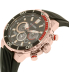 Citizen Men's Eco-Drive CA4252-08E Gold Rubber Eco-Drive Watch - Side Image Swatch