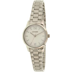 Citizen Women's EJ6081-54A Silver Stainless-Steel Quartz Watch